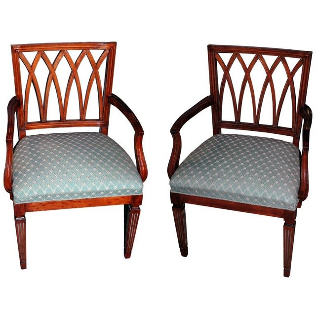 Pair of Gustavian Chairs, Circa 1900 - Image 1 of 3