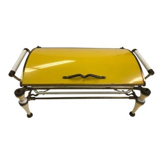 1950s Mid-Century Modern Large Single Chafing For Sale