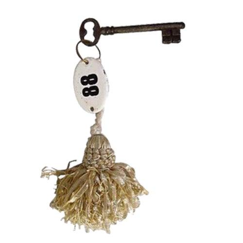 Antique French Hotel Skeleton Key - Image 1 of 2