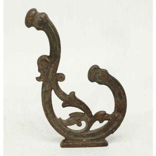 Iron Bracket Double Hooks - Set of 4 - Image 3 of 4