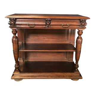 19th Century French Walnut Sideboard For Sale