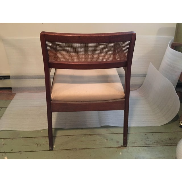 Mid-Century Modern 1960s Vintage Jens Risom 'Playboy' C-140 Side Chair For Sale - Image 3 of 8