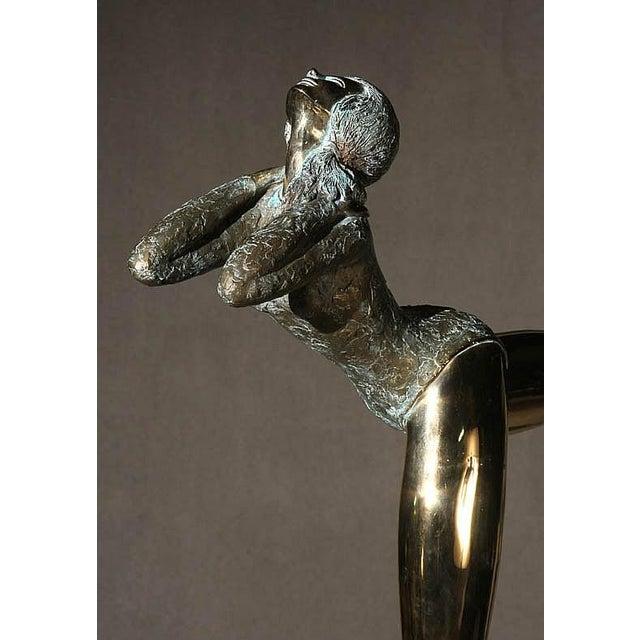 Pasargad NY Bronze Ballerina Statue - Prince Monyo Mihailescu-Nasturel Herescu (Romanian B. 1926) - Image 3 of 9