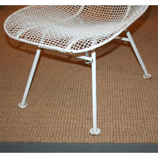 Woodard Jet Age Wire Mesh Outdoor Chairs - Set of 24 For Sale - Image 9 of 10
