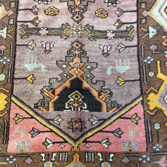 """Turkish Anatolian Runner - 3'10""""x9'4"""" For Sale In Richmond - Image 6 of 13"""