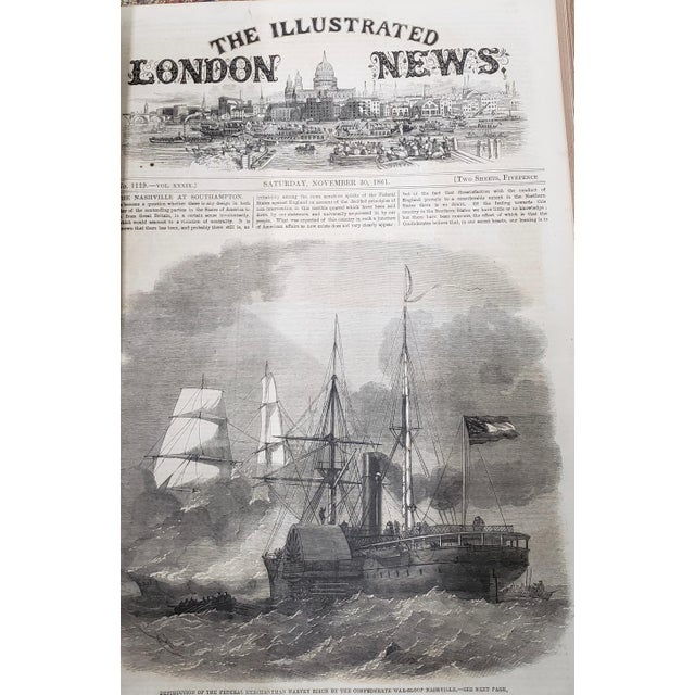 Late 19th Century Two Volumes Illustrated London News Books 861 and 1867 - Set of 2 For Sale - Image 5 of 13