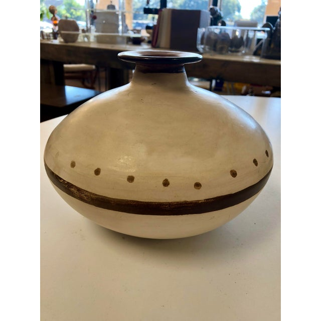 Vintage Handcrafted Peruvian Vase For Sale In Charleston - Image 6 of 6