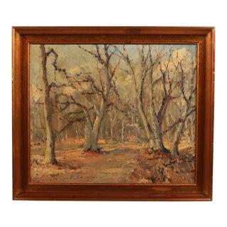 Dyrehaven Forest by Hans E. Sorensen For Sale