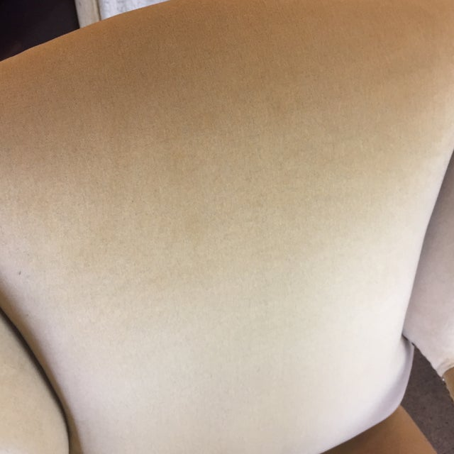 Comfort Home Tan Wingback With Nailhead Chair - Image 8 of 8