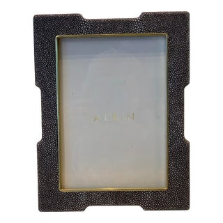 "Aerin Frame, Deco Shagreen Frame - 5x7"" For Sale"