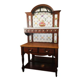 Vintage Used Pantry Storage Cabinets For Sale Chairish