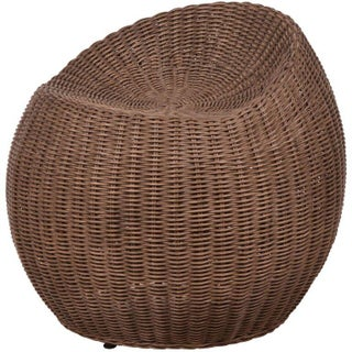 Palecek Rattan Swivel Stool For Sale
