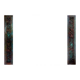 Pine Needle Blotter Ends by Tiffany Studios - A Pair For Sale