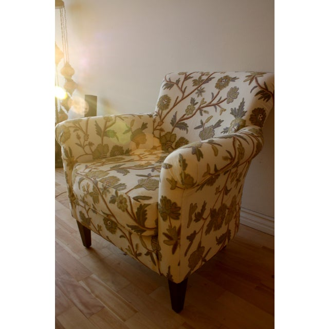Custom Floral Chair - Image 3 of 5