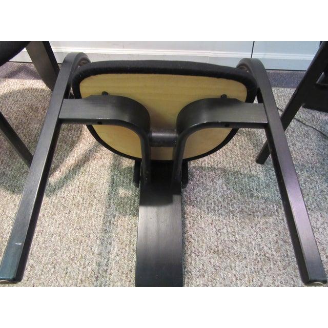 "Torstein Nilsen for Westnofa ""Totem"" Chairs - Set of 3 For Sale - Image 9 of 11"