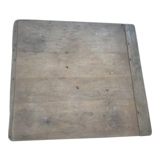 Vintage Wooden Cutting Board For Sale