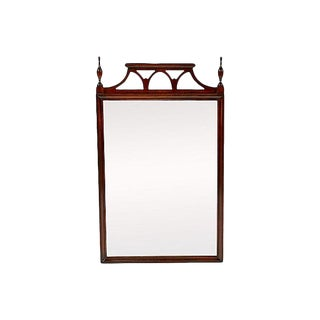 Mahogany Chippendale-Style Wall Mirror
