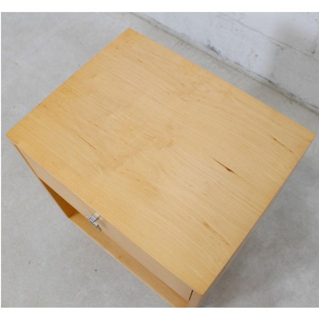 Jack Cartwright for Founders Blonde End Table For Sale - Image 5 of 10