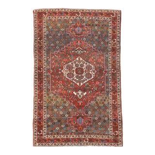 Semi Antique Hand Made Bakhtiari Persian Rug For Sale