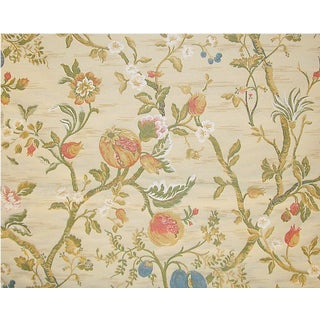 Back in Stock! Old World Weavers / Scalamandre Lampas Fabric - 3 Yards For Sale