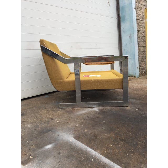 Mid-Century Chrome Carson Lounge Chair For Sale In Philadelphia - Image 6 of 9