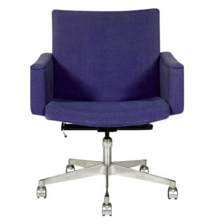 1960s Ring Mekanikk Norway Rolling Desk Chair
