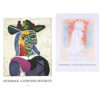 Bundle- 2 Assorted Picasso and Cocteau Mourlot Lithographs For Sale