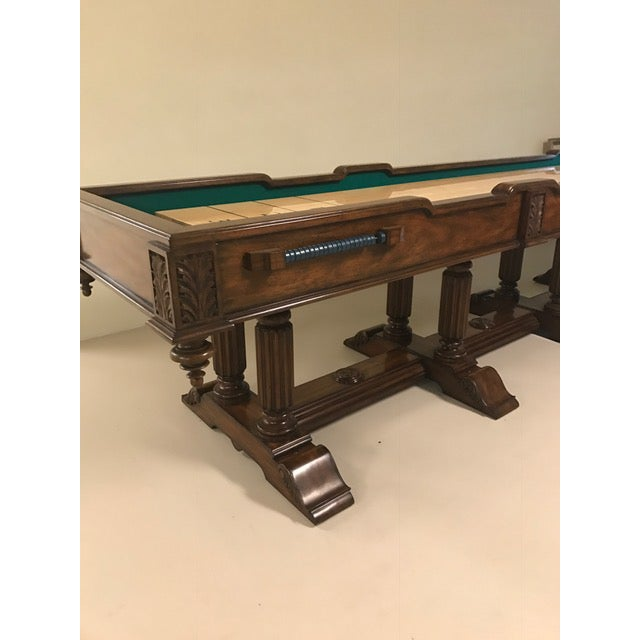 Maitland - Smith Maitland Smith Shuffleboard Game Table For Sale - Image 4 of 6