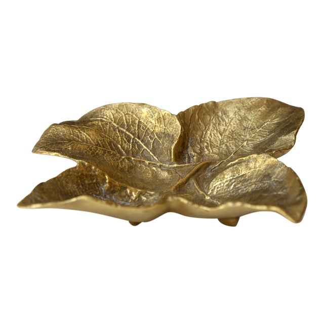 Brass Leaf Tray - Image 1 of 3
