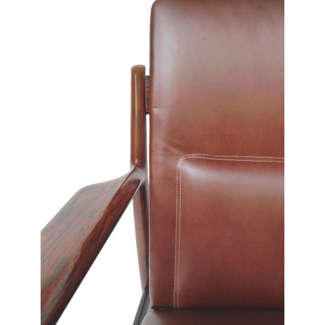 Mid-Century Rosewood Armchairs by Arne Vodder - A Pair - Image 6 of 10