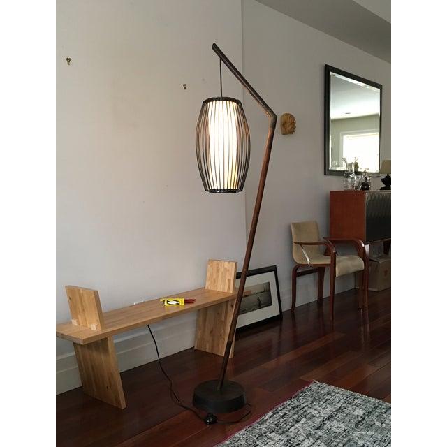 New York-Based Japanese Designer Floor Lamp - Image 4 of 8