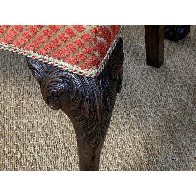 Mid-19th Century Chippendale Style Carved Mahogany Side Chairs For Sale - Image 11 of 13