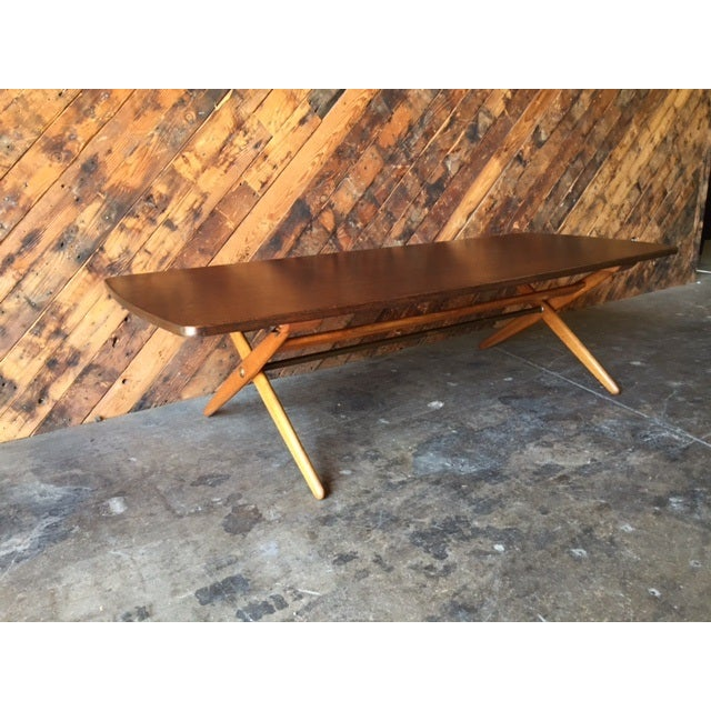 Mid-Century Danish Coffee Table by Ole Wanscher - Image 8 of 10