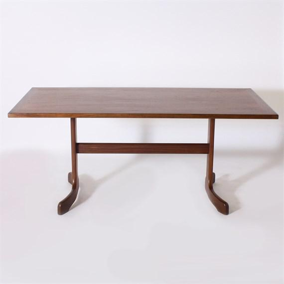French French Oak Console, C. 1960 For Sale - Image 3 of 3