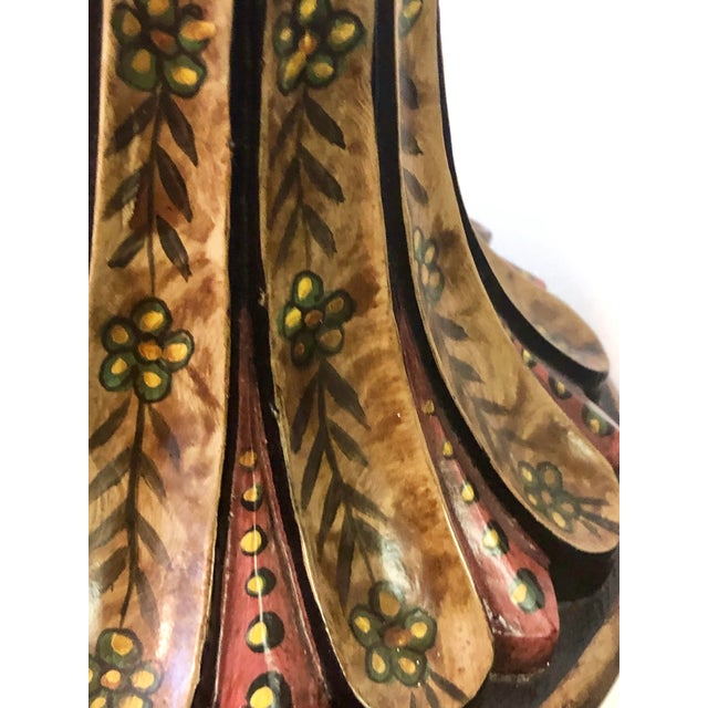 Wood Bradburn Home Paisley Candleholders - a Pair For Sale - Image 7 of 13
