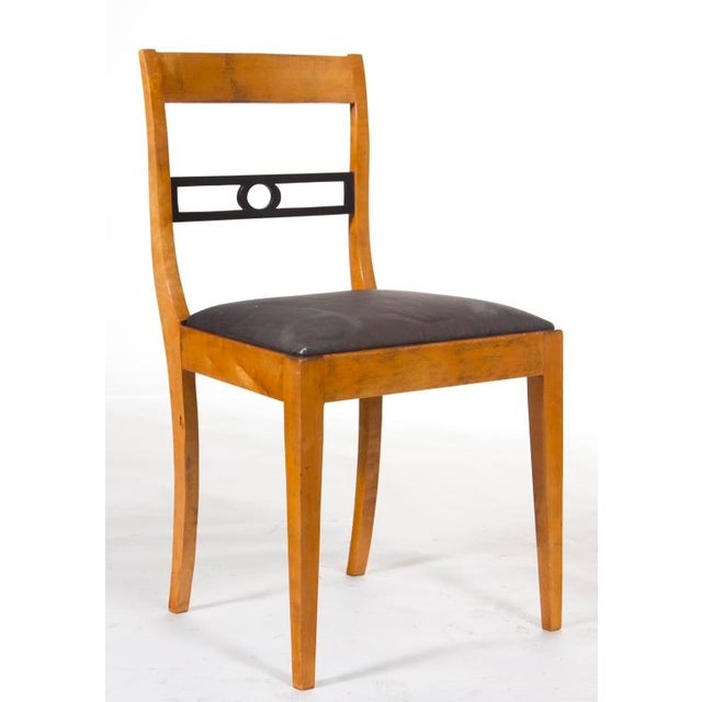 Biedermeier Early 20th Century Swedish Biederemeier Side Chair For Sale - Image 3 of 4