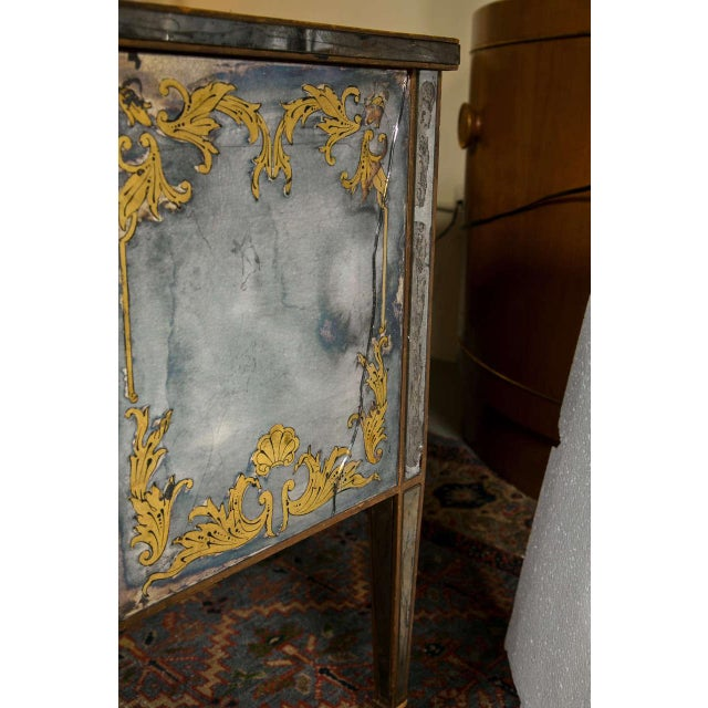 Verre Eglomise Mirrored Stand - Image 7 of 8