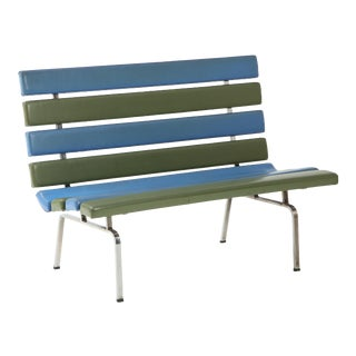 Gerald McCabe Slat Settee for Pacific Furniture For Sale