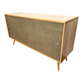 Mid-Century Paul McCobb Planner Group Maple Sideboard / Credenza
