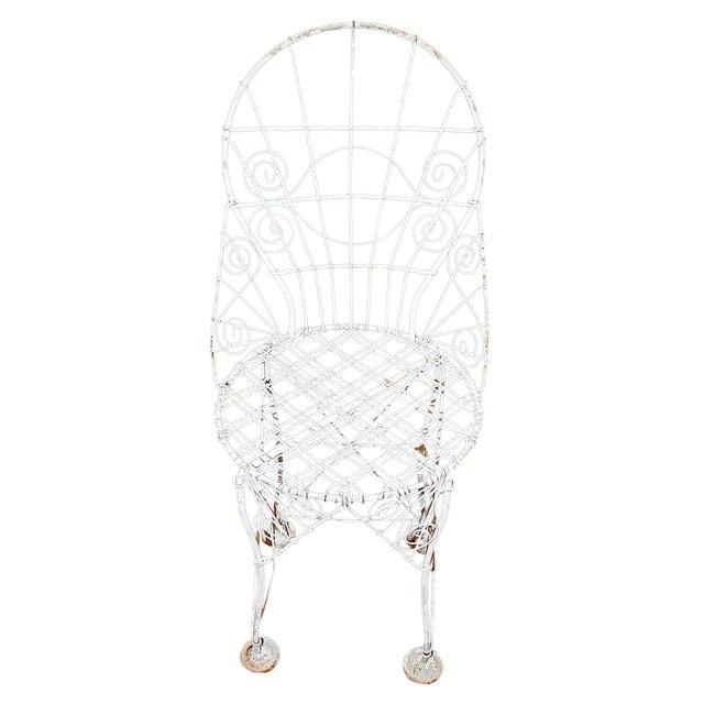Miraculous French Wire Garden Chair Uwap Interior Chair Design Uwaporg