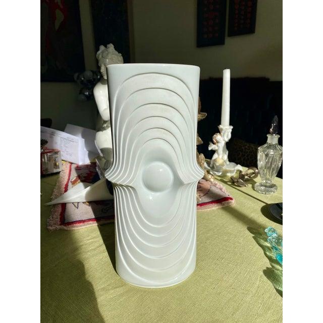 1960s Mid Century Atomic German Vase For Sale - Image 9 of 9
