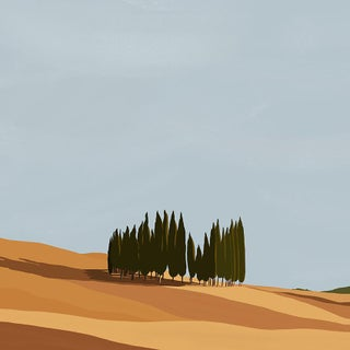 Val d'Orcia #2 Print For Sale