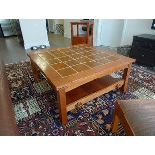 Mission Stickley Cherry Tile-Top Coffee/Cocktail Table Preview