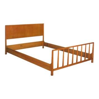 Vintage Mid Century Modern Bed by t.h. Robsjohn-Gibbings for Widdicomb For Sale