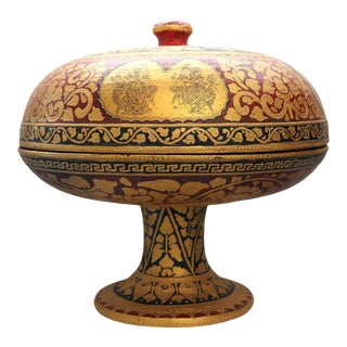 Bali Dulang With Lid For Sale