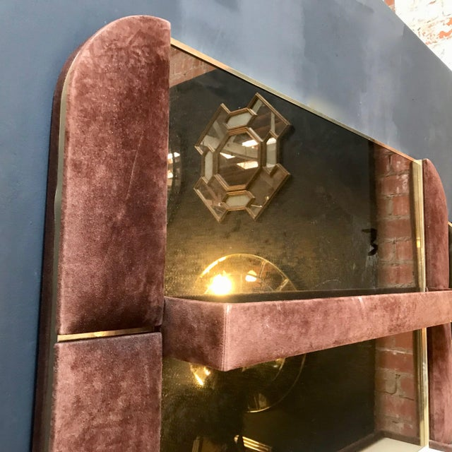 1970s Willy Rizzo Art Deco Flat Dry Bar, Italy For Sale - Image 10 of 13