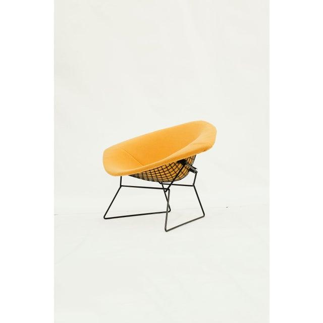 1970s Danish Modern for Knoll International Bertoia Large Diamond Chair For Sale - Image 11 of 11