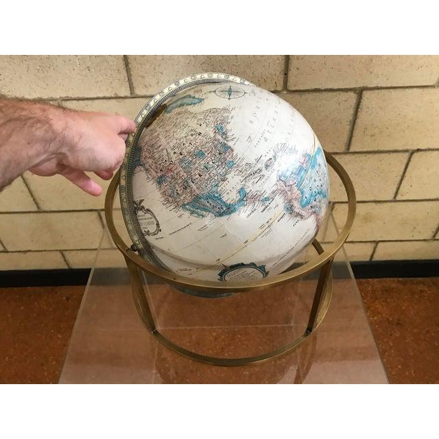 Paul Mccobb Style Mid Century Modern Replogle Desk Globe For Image 5 Of 12