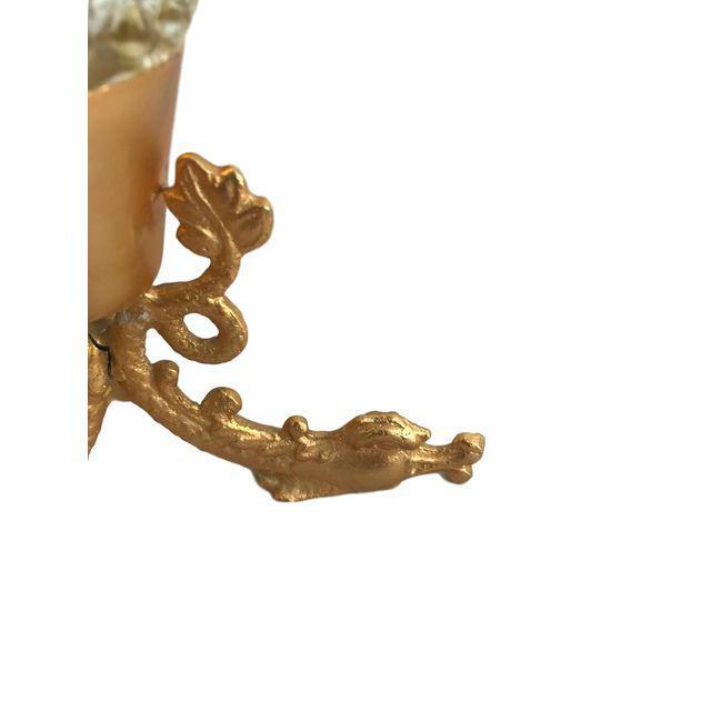 Crystal & Gold Vase - Image 5 of 9