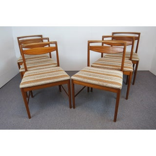 1960s Mid-Century Modern Tom Robertson for A.H. McIntosh Rosewood Dining Chairs- Set of 6 Preview
